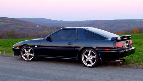 the toyota Supra came equipped with the A340E automatic transmission